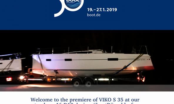 Boot Düsseldorf 2019 - VIKO S 35 premiere