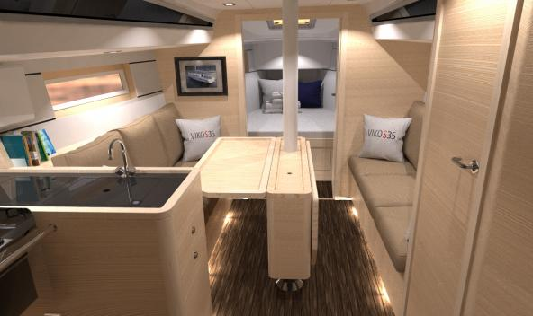 Discover the interior of VIKO S 35